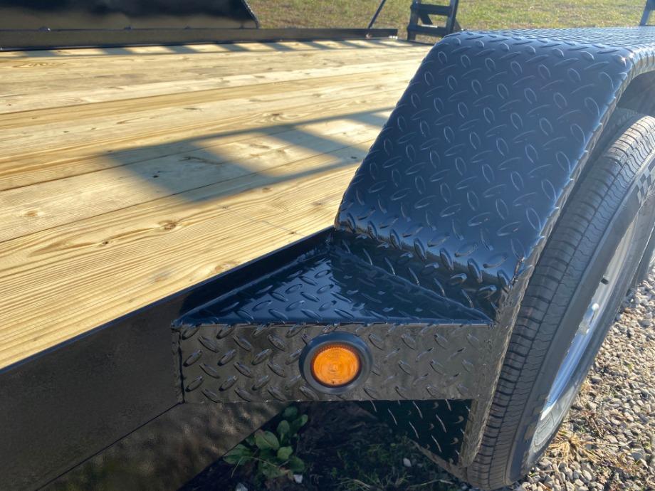 Skid Steer Trailer 20ft 10400 GVW By Gator Skid Steer Trailers