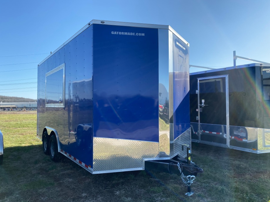 Enclosed Trailer 16ft With V Nose Best Enclosed Trailer