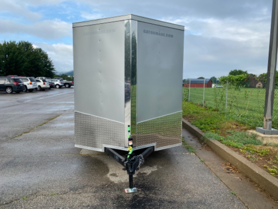 Enclosed Trailer Silver Best Enclosed Trailer