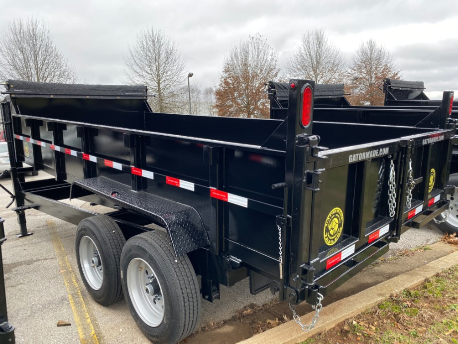 Dump Trailer Gooseneck 16000 lb GVWR Best Dump Trailer