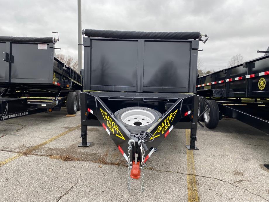 Dump Trailer 7x14 16,000 lb Best Dump Trailer