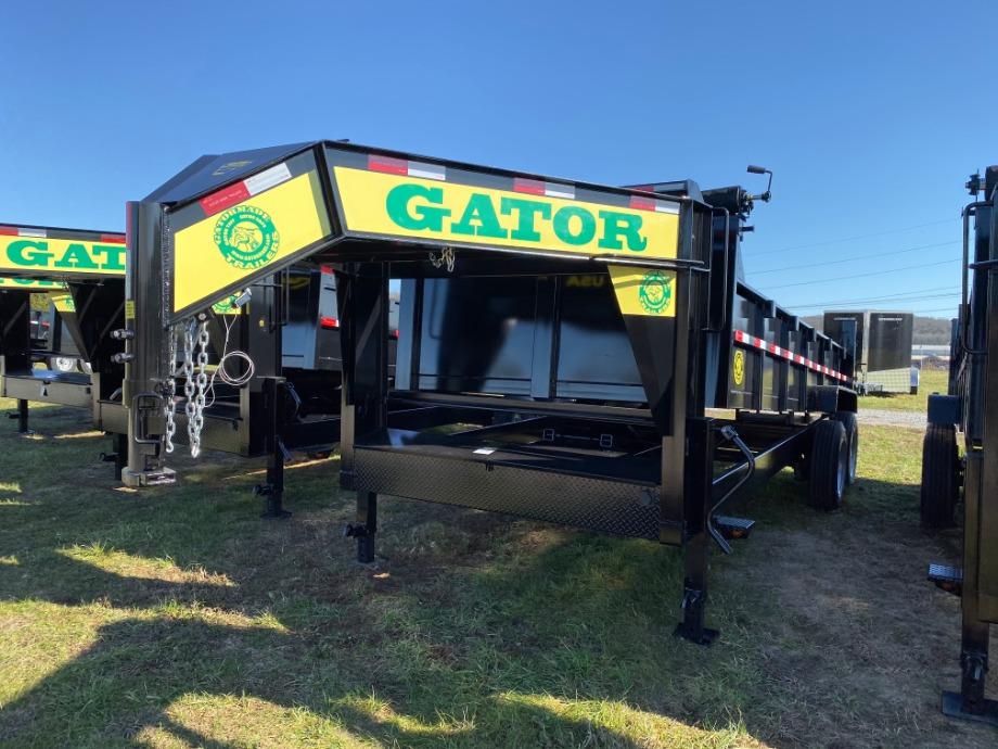 Dump Trailers Gooseneck 16000 GVWR By Gator Best Dump Trailer