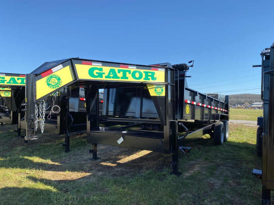 Dump Trailer Extreme Duty 16k By Gator Best Dump Trailer