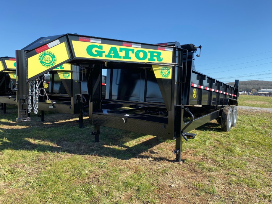 Dump Trailer 14ft 14k Gooseneck By Gator Best Dump Trailer