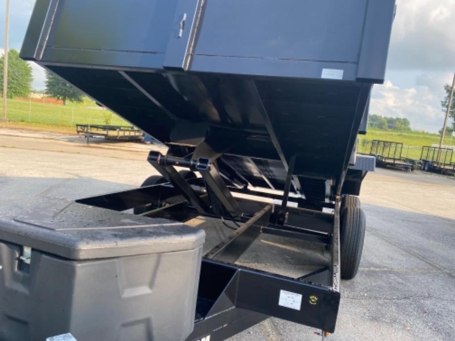 Rent To Own Bumper Pull Dump Trailer Best Dump Trailer