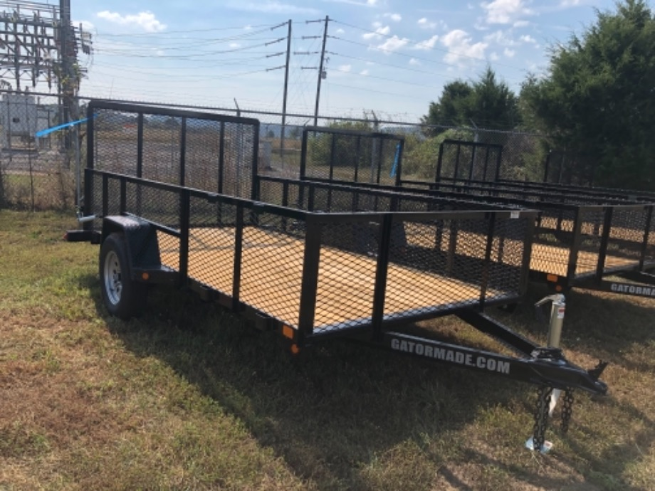 Utility Trailer With Tall Sides 6x12 Utility Trailers