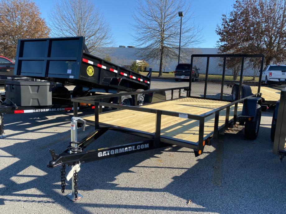 Utility Trailer 6x14 Single Axle Utility Trailers