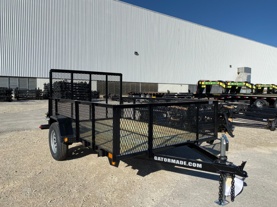 Utility Trailer 6x10 With Mesh Sides Utility Trailers