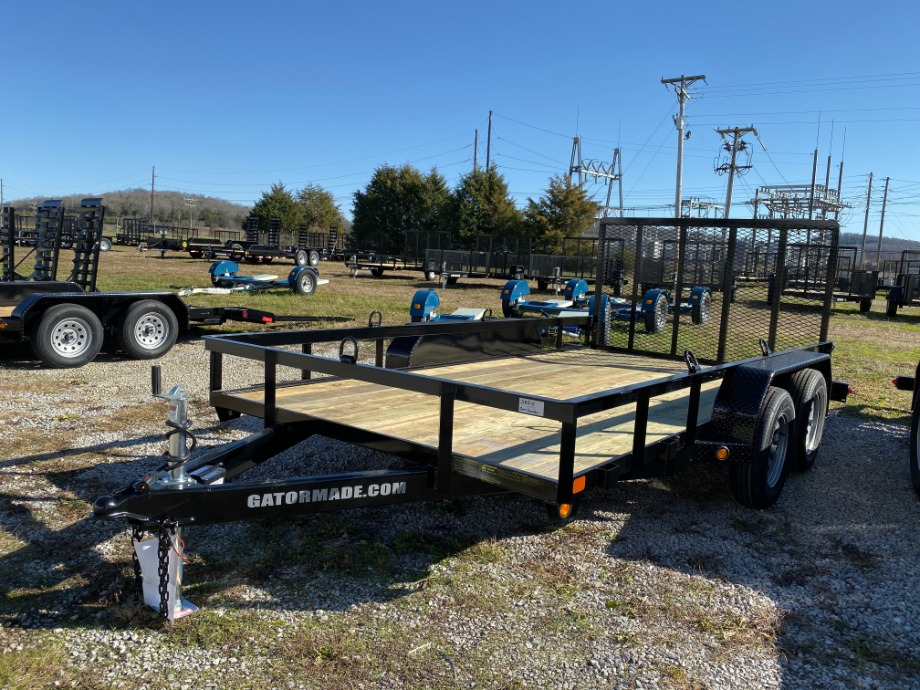Utility Trailer Tandem By Gator 14ft Utility Trailers