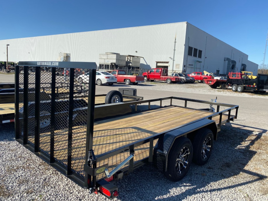 Utility Trailer With Mag Wheels Utility Trailers
