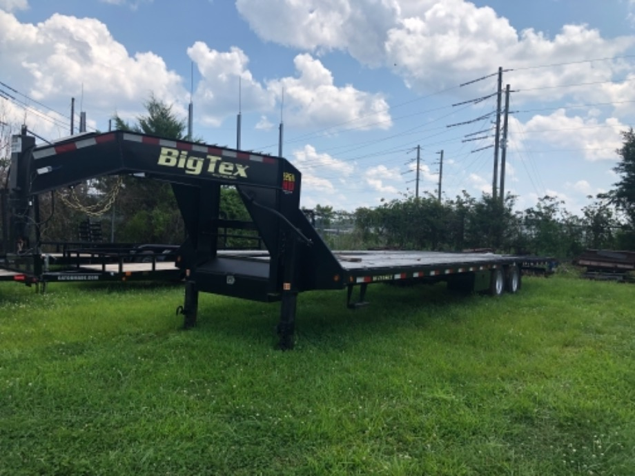 Used Big Tex Hydraulic Dovetail For Sale Gooseneck Trailers