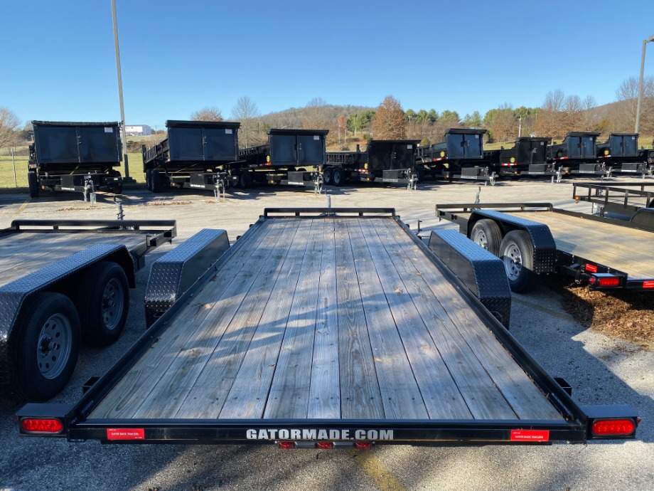 Car Hauler 20ft With Stand Up Ramps By Gator Best Car Hauler Trailer