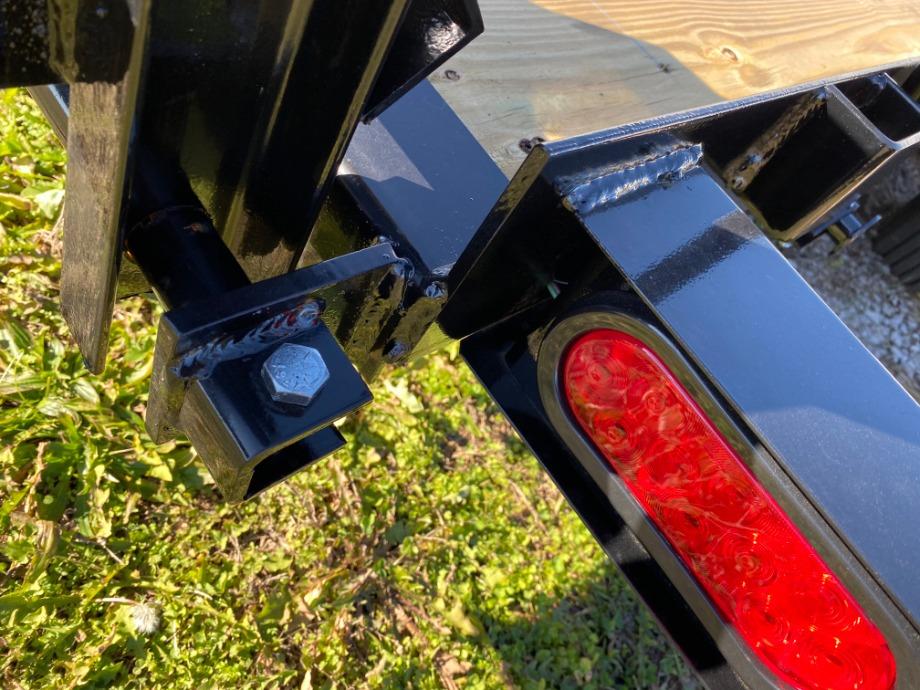 Car Hauler 18ft With Stand Up Loading Ramps Best Car Hauler Trailer