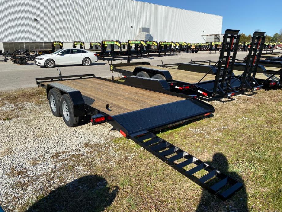 Car Hauler 18ft With Dovetail Best Car Hauler Trailer